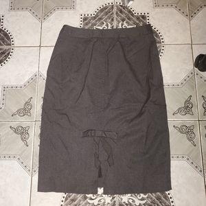 Victoria Secret Bow Back Pencil Stretch Skirt 6